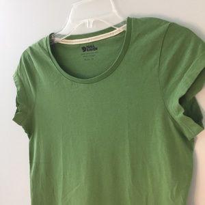"Fjallraven olive green ""Greenland"" cotton t-shirt"